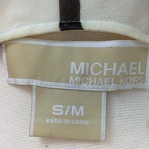 MICHAEL Michael Kors Tops - MMK Silk Animal Print Belted Poncho